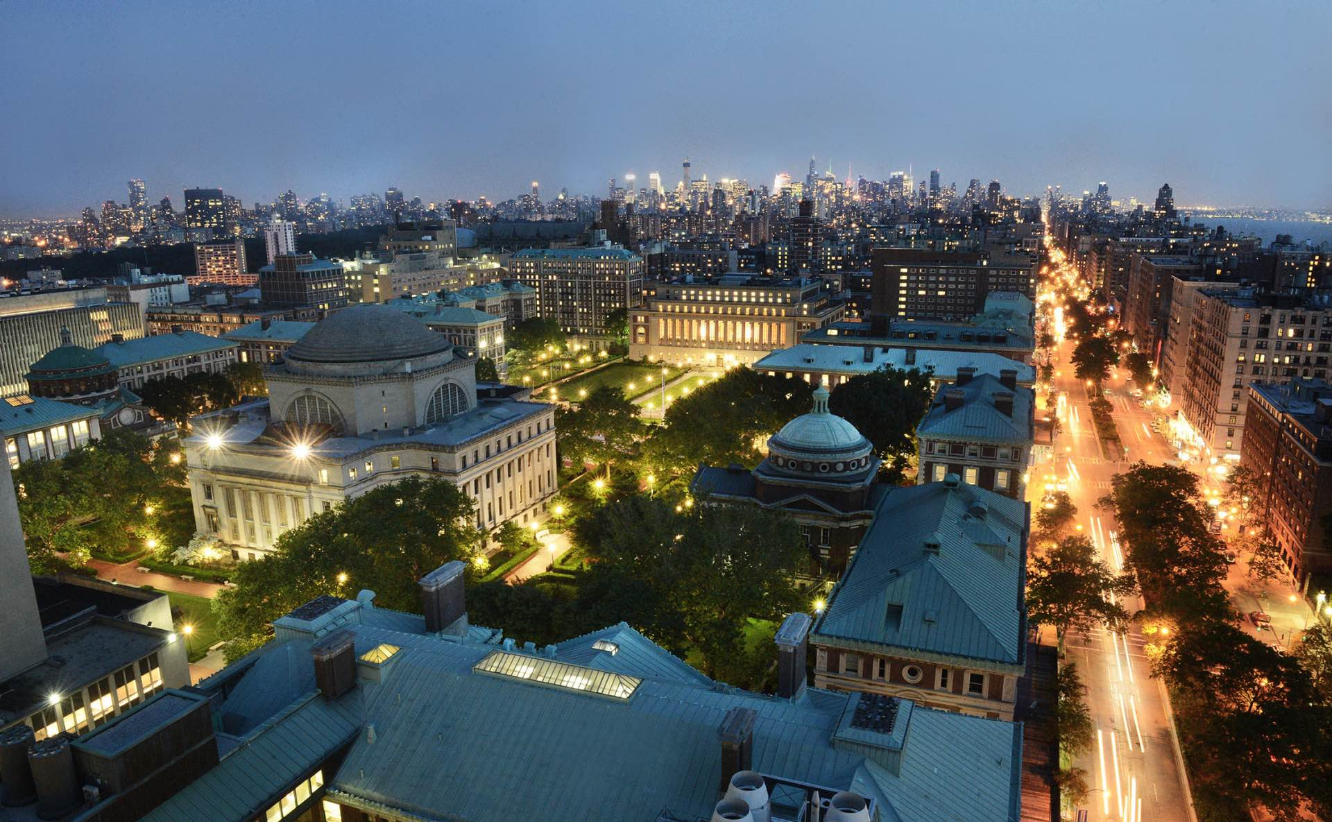 Campus of Columbia University